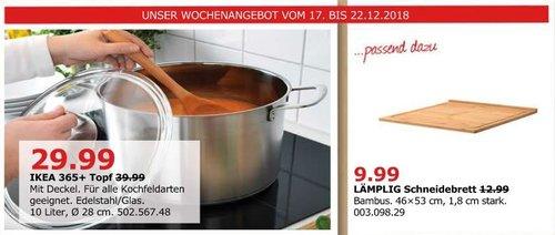 IKEA Düsseldorf - 365+ Topf mit Deckel, 10 Liter - jetzt 25% billiger