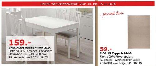 IKEA Düsseldorf - EKEDALEN Ausziehtisch - jetzt 27% billiger