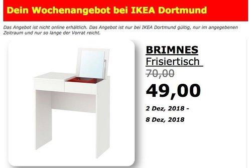 IKEA Dortmund - BRIMNES Frisiertisch - jetzt 30% billiger