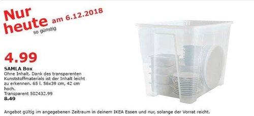 IKEA Essen - SALMA Box, 65 Liter - jetzt 41% billiger
