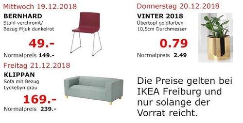 IKEA Freiburg - BERNHARD Stuhl, dunkelrot - jetzt 67% billiger