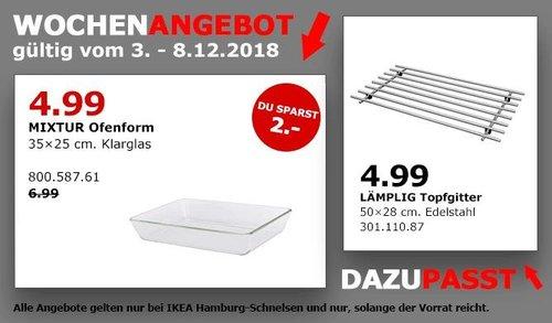 IKEA Hamburg-Schnelsen - MIXTUR Ofenform, 35x25 cm - jetzt 29% billiger