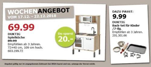 IKEA Kaarst - DUKTIG Spielküche - jetzt 22% billiger