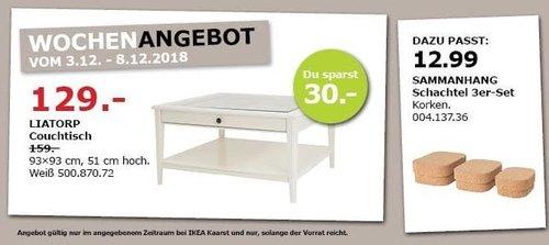 IKEA Kaarst - LIATORP Couchtisch - jetzt 19% billiger