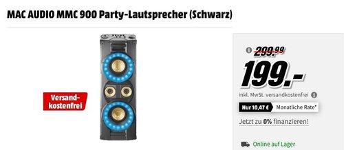 MAC AUDIO MMC 900 Bluetooth Party-Lautsprecher 400 Watt - jetzt 19% billiger