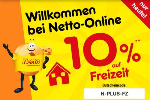 Netto Marken-Discount Onlineshop - 10% Rabatt auf Freizeit: z.B.  Hamax Sno Schlitten - jetzt 10% billiger