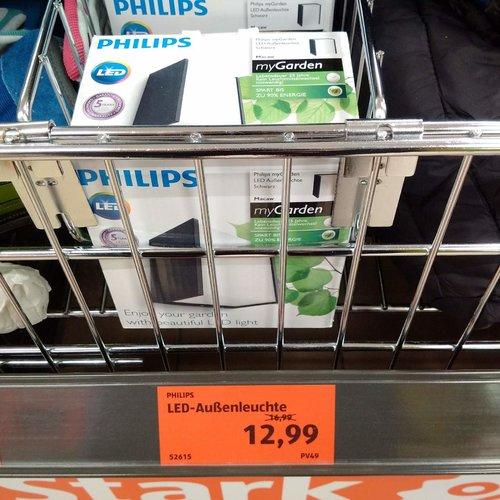 PHILIPS myGarden LED-Außenleuchte - jetzt 24% billiger