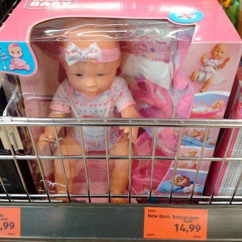 Simba New Born Babypuppe - jetzt 25% billiger