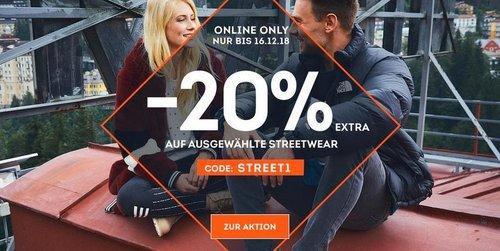 SportScheck.com - 20 % Extra-Rabatt auf ausgewählte Streetwear: z.B. Tommy Jeans Down Coat - Damen Daunenjacke in Rumba-Red - jetzt 20% billiger