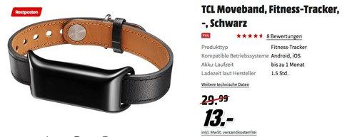 "TCL MB12-2DLCWE1 ""MOVEBAND"" Activity Tracker schwarz - jetzt 57% billiger"