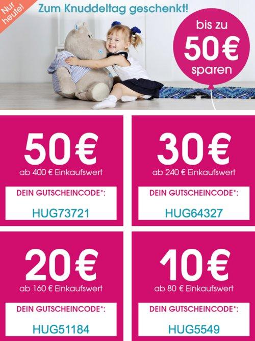 Babymarkt.de - bis zu 50€ Rabatt auf fast alles: z.B. hauck TOYS - Handwagen Eco Mobil, Forest - jetzt 18% billiger