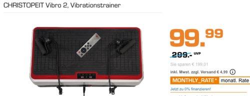 Christopeit Vibro 2 Vibrationstrainer - jetzt 13% billiger