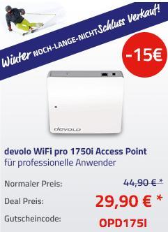 Devolo WiFi pro 1750i Access-Point für professionelle Anwender - jetzt 33% billiger