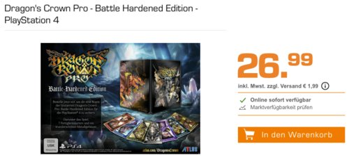 Dragon's Crown Pro - Battle Hardened Edition - PlayStation 4 - jetzt 21% billiger