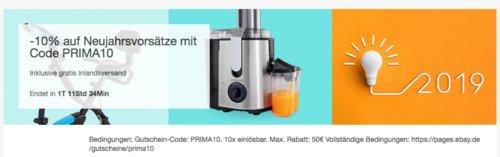 Ebay - 10% Rabatt auf ausgewählte Artikel: z.B. WMF Cold Brew Kanne mit Honeycomb Gläser 5tlg - jetzt 10% billiger