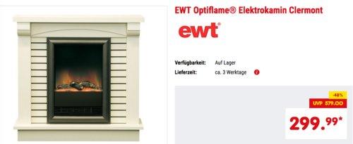 EWT Optiflame® Elektrokamin Clermont - jetzt 27% billiger