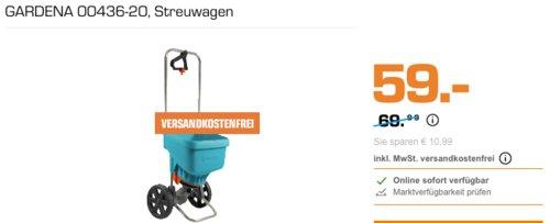 GARDENA 00436-20 Streuwagen, Universalstreuer - jetzt 16% billiger