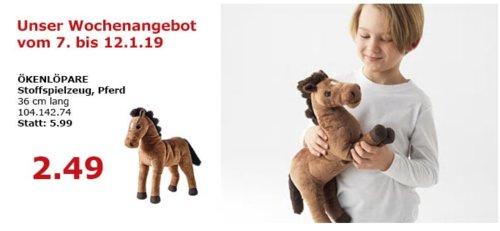 IKEA Berlin-Waltersdorf - ÖKENLÖPARE Stoffspielzeug, Pferd - jetzt 58% billiger