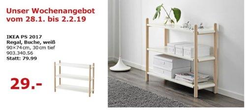 IKEA Berlin-Waltersdorf - PS 2017 Regal, weiß - jetzt 64% billiger