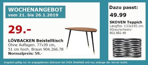 IKEA Bielefeld - LÖVBACKEN Beistelltisch, braun - jetzt 51% billiger
