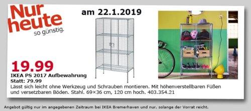 IKEA Bremerhaven - PS 2017 Aufbewahrung, Stahl - jetzt 75% billiger