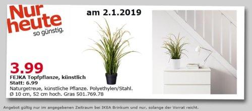 IKEA Brinkum - FEJKA Topfpflanze, künstlich - jetzt 43% billiger