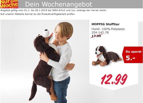 IKEA Erfurt - HOPPIG Stofftier, Hund - jetzt 28% billiger