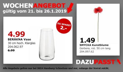 IKEA Hamburg-Schnelsen - BERÄKNA Vase, 30 cm - jetzt 29% billiger
