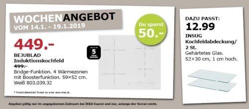 IKEA Kaarst - BEJUBLAD Induktionsfeld, weiß - jetzt 10% billiger