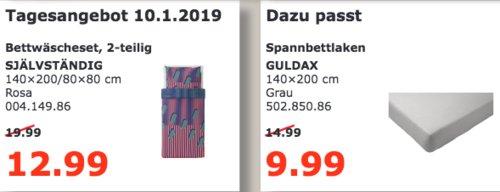 IKEA Kaiserslautern - SJÄLVSTÄNDIG Bettwäscheset, 2-teilig - jetzt 35% billiger