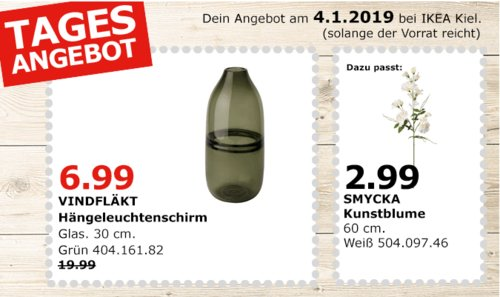 IKEA Kiel - VINDFLÄKT Hängeleuchtenschirm, 30 cm, grün - jetzt 65% billiger