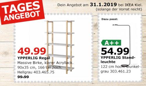 IKEA Kiel - YPPERLIG Regal, hellgrau - jetzt 50% billiger