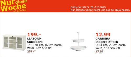 IKEA LIATORP Sideboard, weiß - jetzt 23% billiger