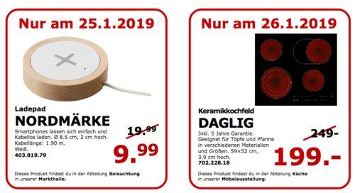 IKEA NORDMÄRKE Ladepad für Smartphones, weiß - jetzt 50% billiger