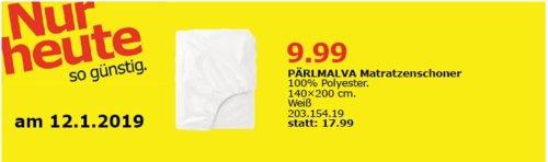 IKEA Oldenburg - PÄRLMALVA Matratzenschoner, 140x200 cm - jetzt 44% billiger