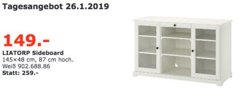 IKEA Regensburg - LIATORP Sideboard, weiß - jetzt 42% billiger