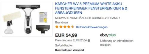 Kärcher WV5 Premium Fensterabzieher, weiß - jetzt 11% billiger
