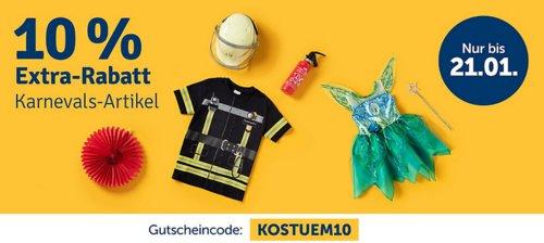myToys 10 % Rabatt auf Karnevalsartikel: z.B. Limit Kostüm Clarisa Mittelalter in Gr. 104/116 - jetzt 9% billiger