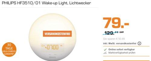 PHILIPS HF3510/01 Wake-up Light Lichtwecker - jetzt 13% billiger