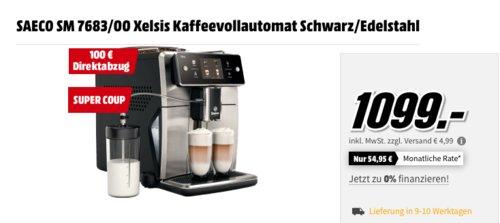 SAECO SM 7683/00 Xelsis Kaffeevollautomat inkl. 6x1kg Jacobs Kaffeebohnen - jetzt 16% billiger