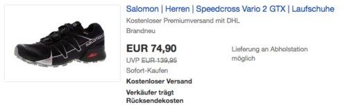 Salomon Speedcross Vario 2 GTX Herren Laufschuh - jetzt 14% billiger