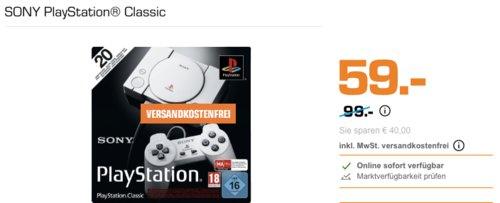 SONY PlayStation® Classic Konsole - jetzt 31% billiger