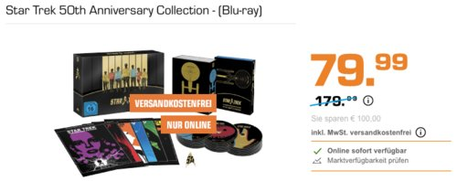 Star Trek 50th Anniversary Collection - (Blu-ray) - jetzt 14% billiger