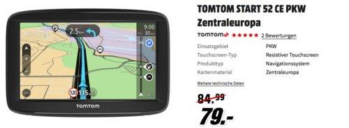 TOMTOM START 52 CE PKW Navigationssystem - jetzt 12% billiger