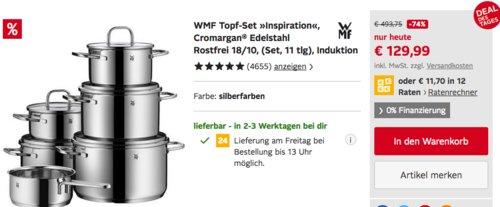 "WMF Topf-Set ""Inspiration"" 11-teilig - jetzt 13% billiger"