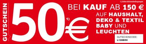 """XXXLutz - 50€ Rabattab 150€ Einkaufswert auf Haushalt, Deko & Textil, Leuchten und Baby: z.B. Seltmann Weiden Porzellan Kombiservice """"Trio Weiß"""" 30-teilig - jetzt 31% billiger"""