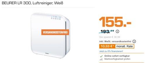 BEURER LR 300 Luftreiniger, weiß - jetzt 9% billiger