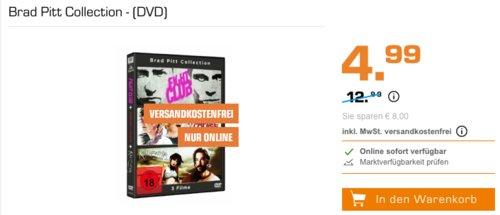 Brad Pitt Collection - (DVD) - jetzt 44% billiger