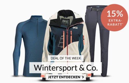 """Engelhorn - 15% Extra-Rabatt auf Wintersport und Outdoor: z.B. KAIKKIALLA Damen Outdoorjacke """"Viola"""" - jetzt 15% billiger"""