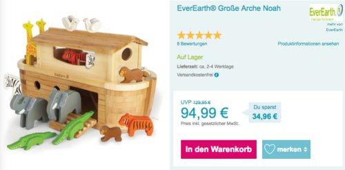 EverEarth® Große Arche Noah mit 14 Tieren - jetzt 21% billiger